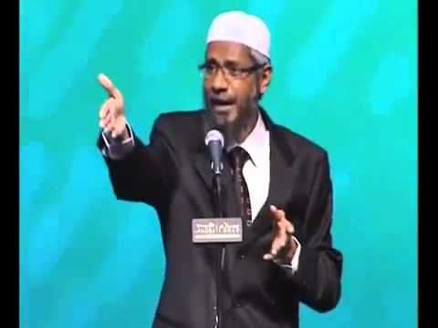 Very good, tricky and difficult question to Dr Zakir Naik