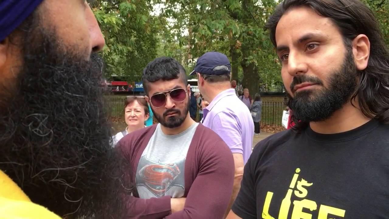 Hamza Tzortzis understanding Sikhi with Jagraj Singh
