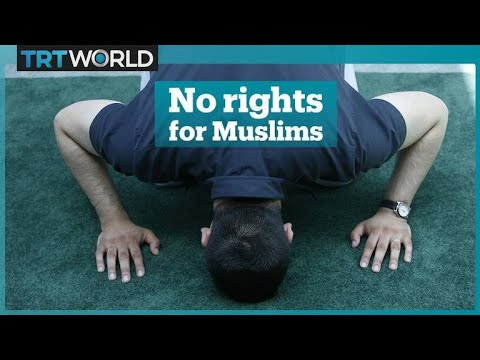 The country with Muslims but no mosque