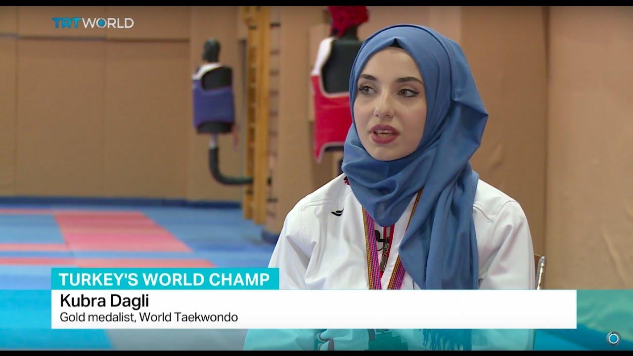 Turkey's Taekwondo Champ: Athlete in hijab wins gold at world meet