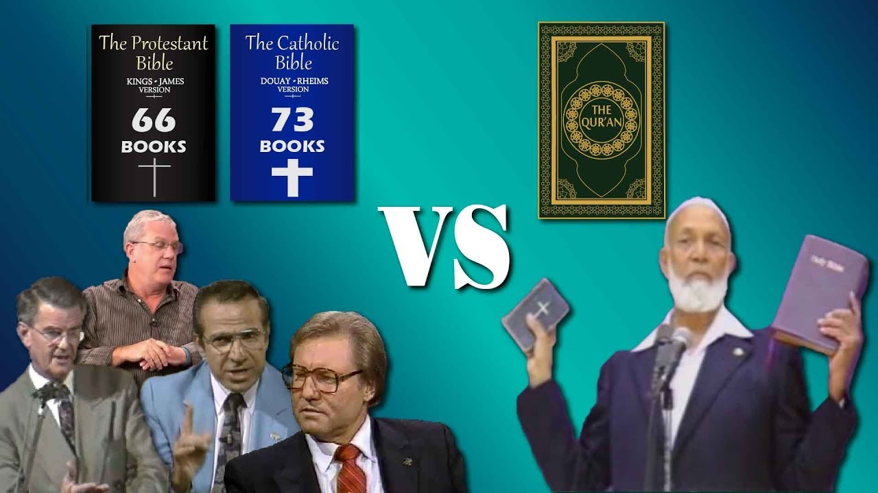 Different VERSIONS Of Quran Vs Different VERSIONS Of Bible by Ahmed Deedat