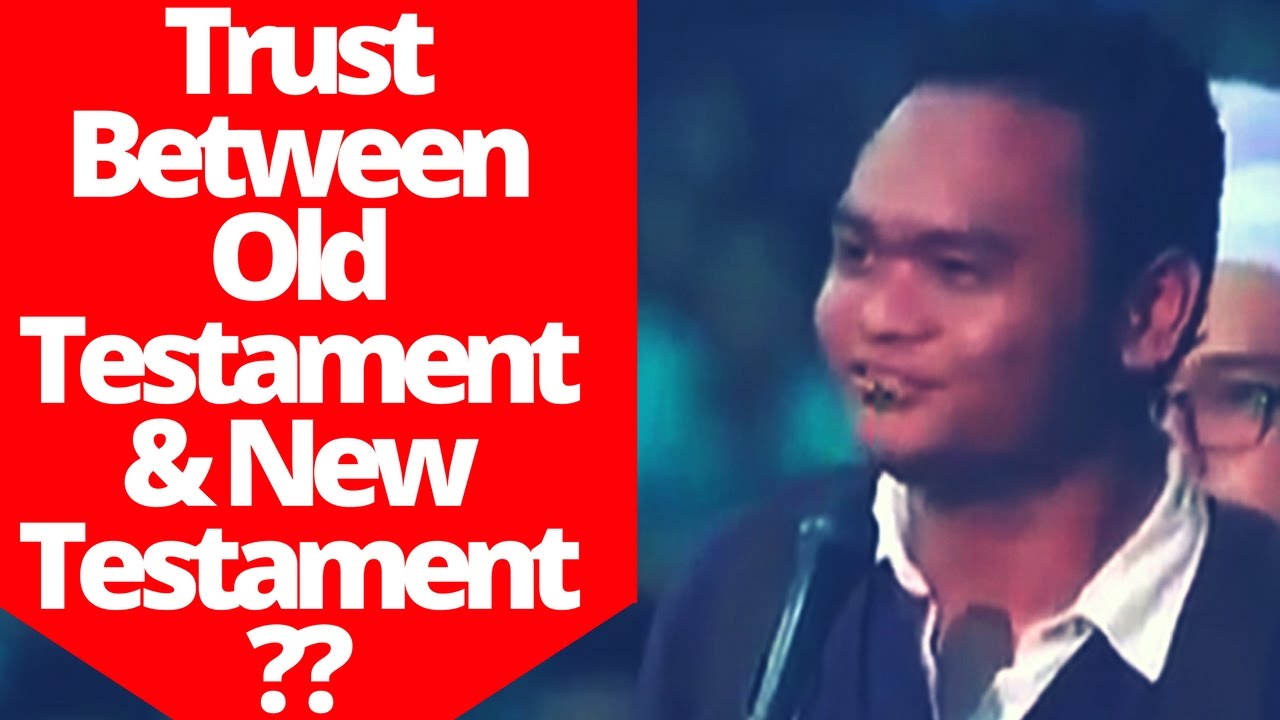 Which One Should I Trust Between The Old Testament & The New Testament ~Dr Zakir Naik