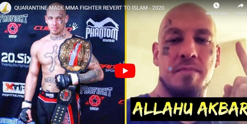 MMA FIGHTER REVERT TO ISLAM