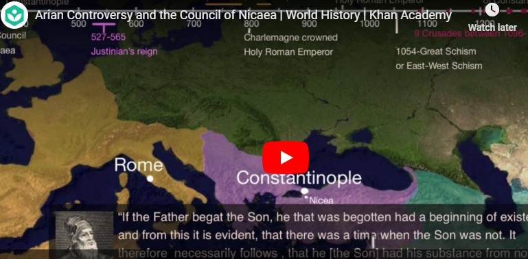 Arian Controversy and the Council of Nicaea