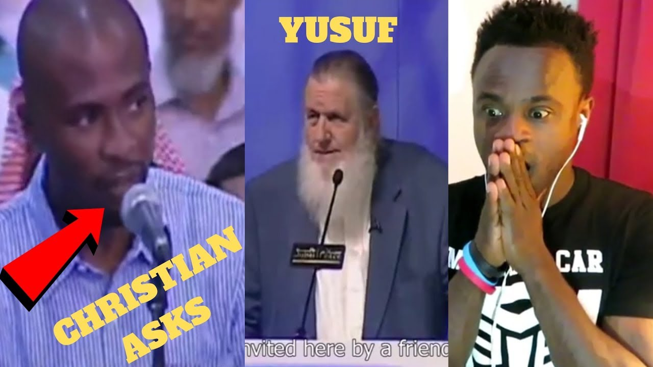 Christian bursted in tears after Yusuf Estes answered his question!