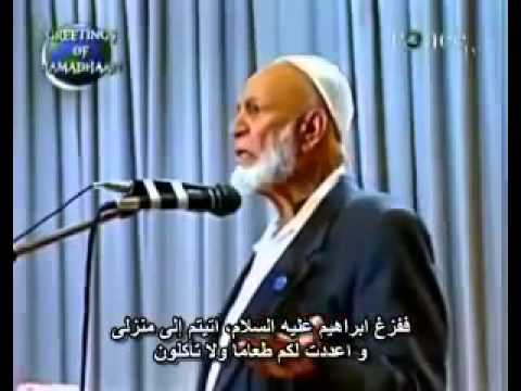 Ahmed Deedat destroy the Christianity in 8 minutes