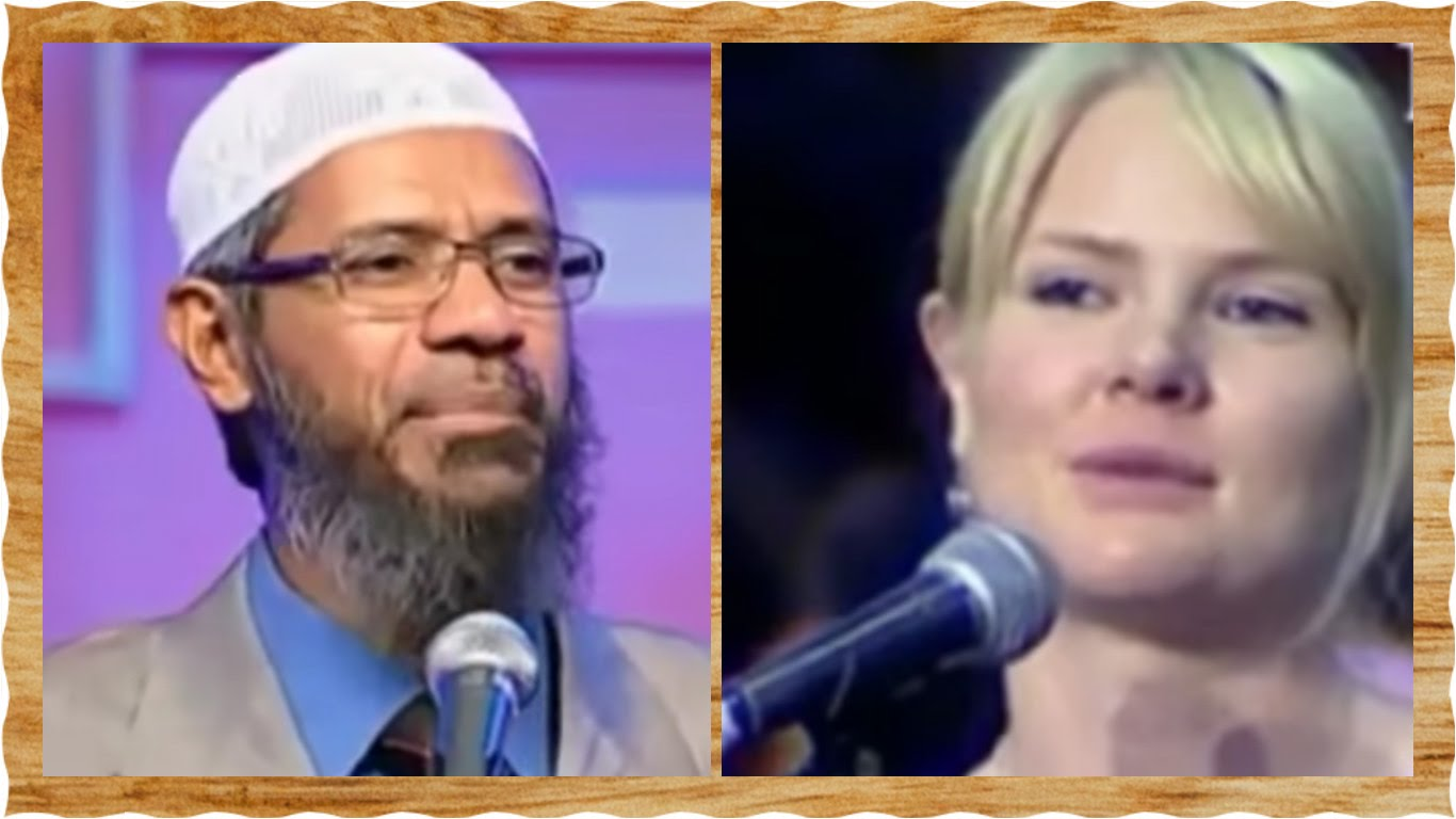 Christian sister accept Islam after long discussion with Dr Zakir Naik