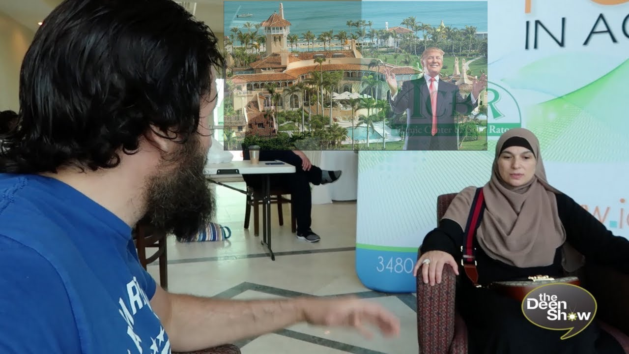Why she went to DONALD TRUMP'S House ★ Jewish Woman Accepts Islam