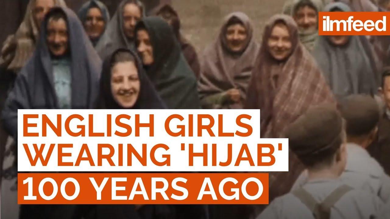 English Girls Wearing 'Hijab' 100 Years Ago