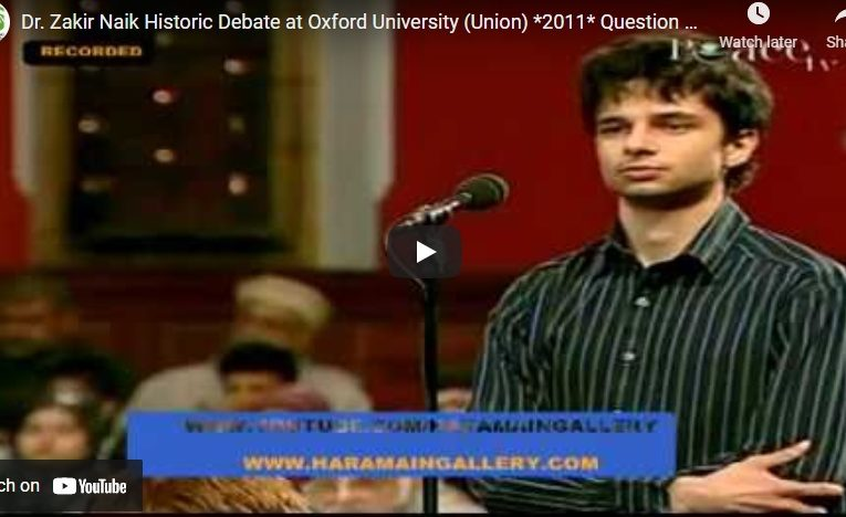 Dr. Zakir Naik Historic Debate at Oxford University (Union) *2011*