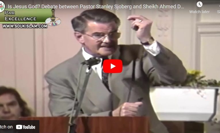 Is Jesus God? Debate between Pastor Stanley Sjoberg and Sheikh Ahmed Deedat